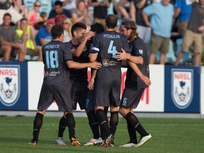 Minnesota United celebrates a goal vs. Jacksonville (Photo: Minnesota United FC)