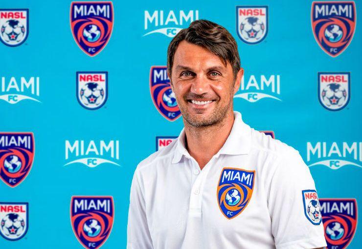 Miami FC co-owner Paolo Maldini (Photo: Miami FC)