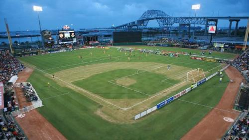 The Dell Diamond has hosted Liga MX clubs