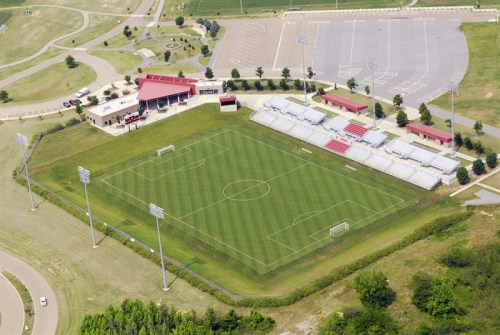 The Mike Rose Soccer Complex would need to add 2500 seats to meet D2 standards