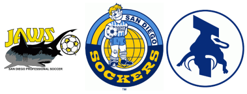 San Diego's three NASL 1.0 teams