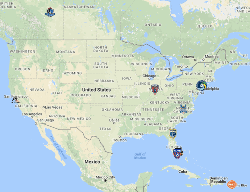 NASL's Rumored Footprint For Spring 2017