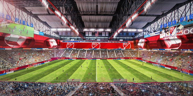 This rendering does not include any DCFC fans or Northern Guard members