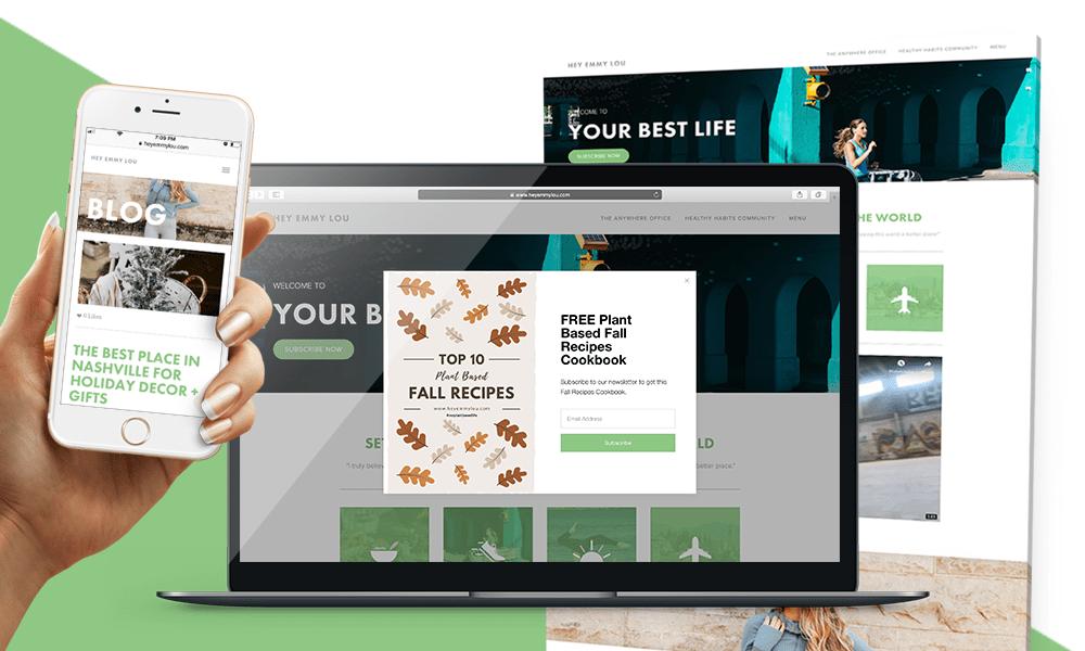 HeyEmmyLou.com Website Design