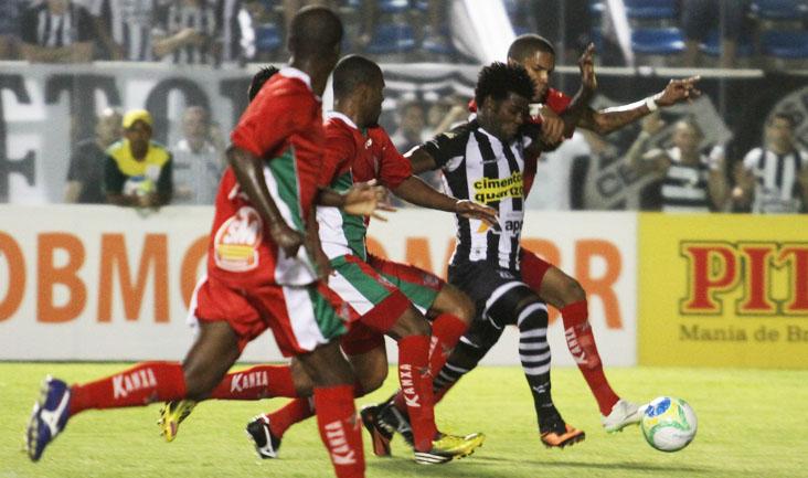Com uma forte marcação, o Boa Esporte conseguiu evitar a derrota no PV e conseguiu o empate