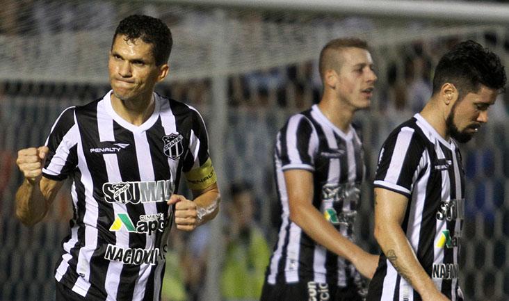 Autor do primeiro gol no jogo de hoje, Magno Alves ainda deu duas assistências para Marinho e Marcos Aurélio