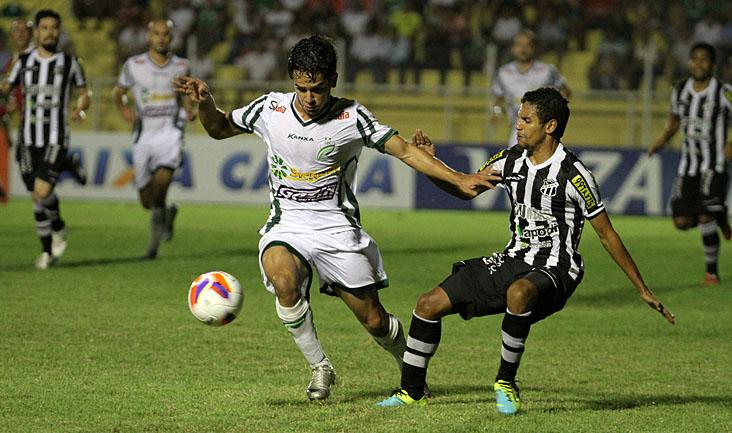 O time cearense enfrentou o Luverdense, no estádio Passo das Emas, em Lucas do Rio Verde/MT