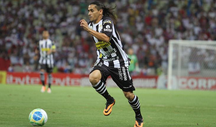 """""""A gente sabe que o adversário é difícil fora de casa"""", afirmou o lateral-esquerdo Vicente"""