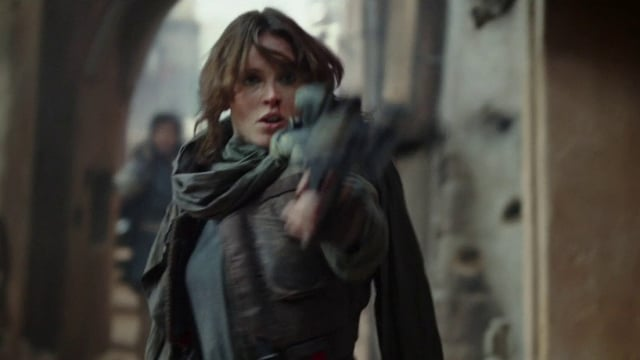 rogue-one-jyn-erso-with-blaster_d2dg.640 Especial Star Wars Rogue One – Quem é Jyn Erso?