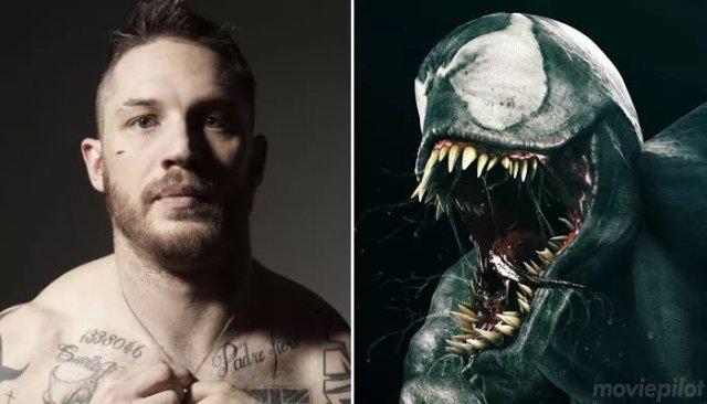 CmqGNrvWYAQvwtD Tom Hardy será o protagonista de Venom