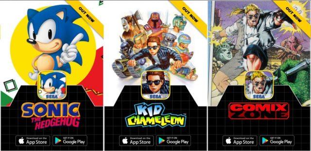 SEGAForever-1024x499 Sega relança jogos clássicos para Android e iOS!