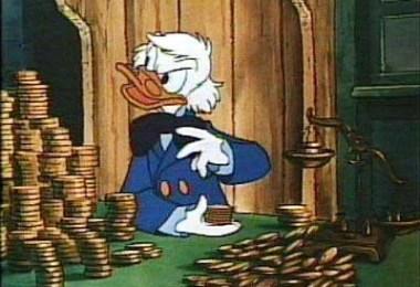 tio patinhas contanto o dinheiro - Os números cardinais e o infinito: Até quantos você sabe contar? Até onde vão os números
