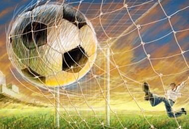 bola de futebol no gol - Qual o gol mais rápido do mundo?