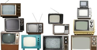 tvs antigas - Mancadas do jornalismo dos Estados Unidos