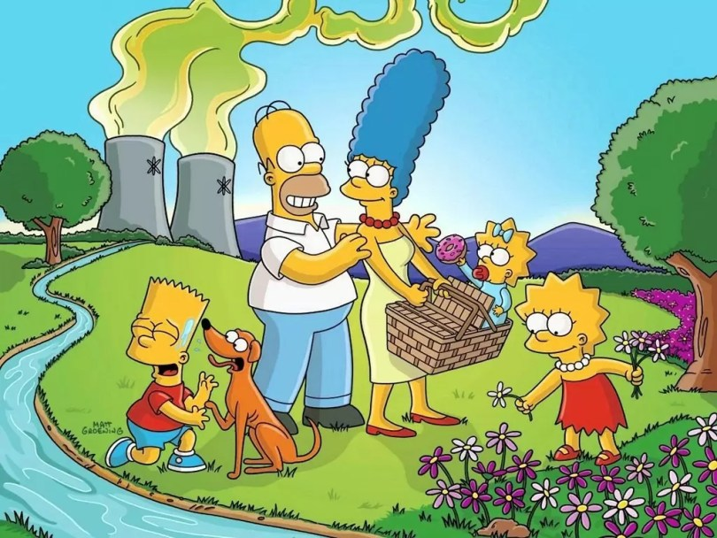 TheSimpsonsWallpaper4 1024 wallpapers hd poster - Fox queria um canal exclusivo para Os Simpsons