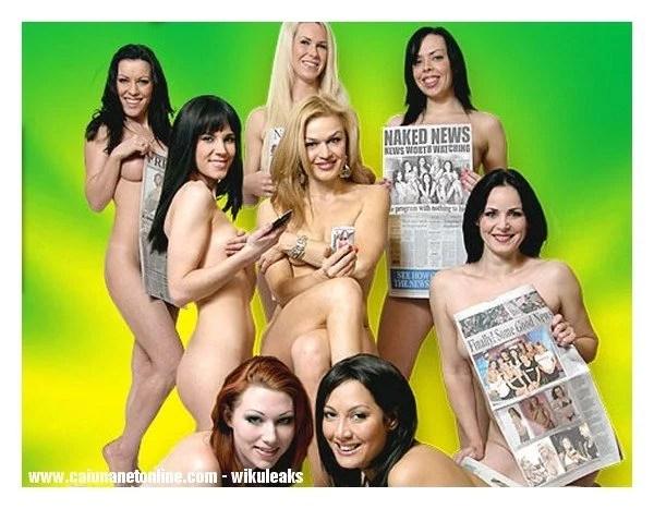 naked news o mais ousado
