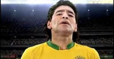 Maradona - Comerciais Internacionais Parte #3