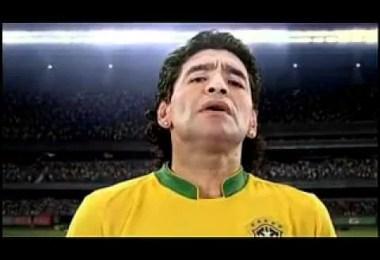 Maradona - Compliação de comerciais brasileiros antigos premiados internacionalmente