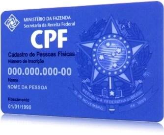 cpf - Brasileiros podem tirar sua 2ª via de CPF pela Internet