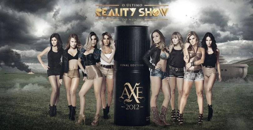 Axe facebook promocao reality show