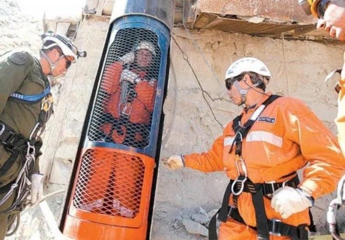 mineiros soterrados no chile sera produzido 2