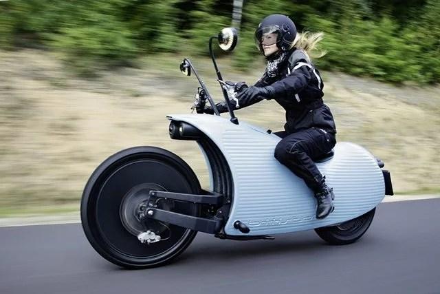Johammer moto elétrica 016 - Motocicletas Exóticas