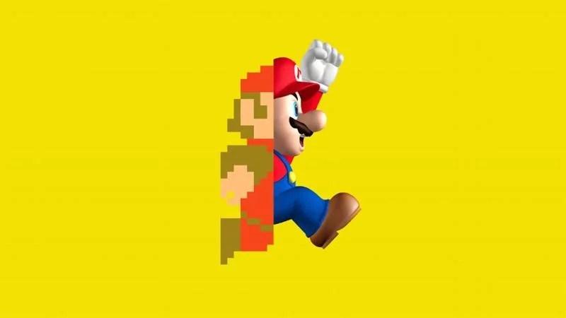 mario transition evolution - Vídeo: A evolução Super Mario Bross da Nitendo desde 1983