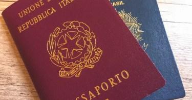 passaporto 1 1 - Saiba tudo sobre como tirar a cidadania italiana