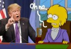 donald trump president the simpsons  oPt