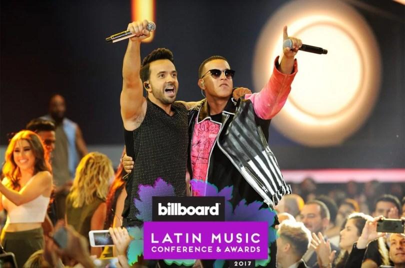 "Luis Fonsi and Daddy Yankee logo perform 2017 billboard latin music awards 1548 1024x677 - Inacreditável: ""Despacito"" é a primeira música latina no topo da Billboard em 20 anos"