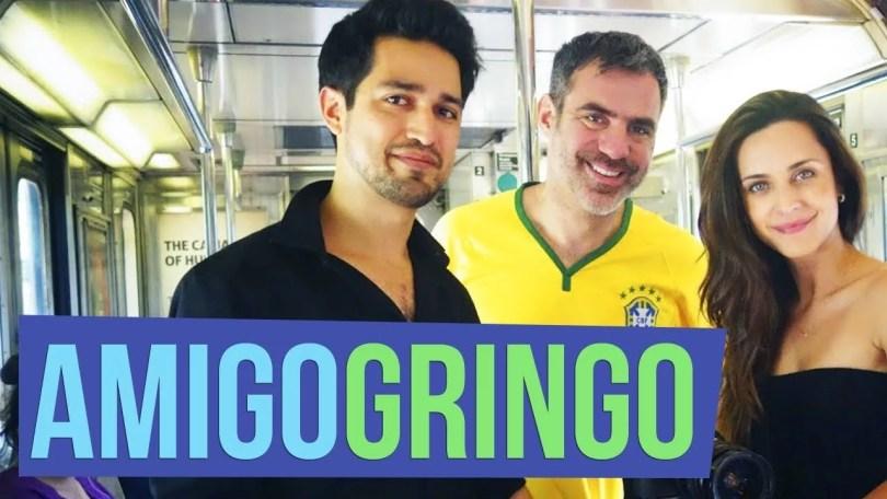 amigo gringo - Canal Amigo Gringo: Gringos adivinham expressões brasileiras