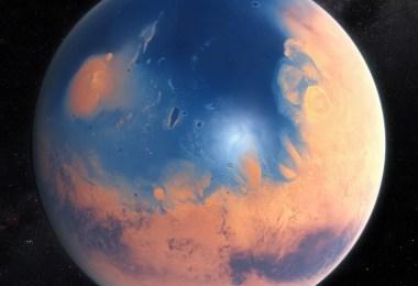 marte Mars water - Sonda Curiosity: Marte teve lagos e água quase pura para beber em uma data não longínqua