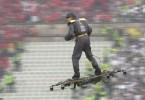 taca drone 1024x576 - Incrível: Homem vem voando entregar a bola da final na taça portuguesa de futebol