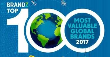 100 top brandz - As 100 marcas de maior valor do mundo em 2017