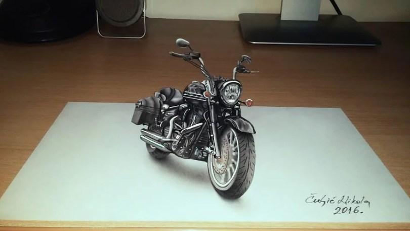 1harli 579246841efac  880 - Desenhos 3d incríveis!