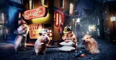 Crafted miniature town for online series HUNGRY HUNGRY HAMSTERS 5936987e82642  880 - Skate e Califórnia dos anos 70