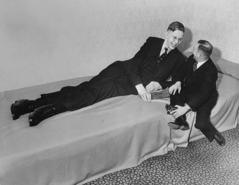 Robert Wadlow homem mais alto do mundo de todos os tempos - Há 100 anos nascia o homem mais alto do mundo de todos os tempos