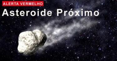 alerta vermelho asteroide capa 20170602 115121 - Foi por pouco: Asteróide vai passar próximo da Terra!
