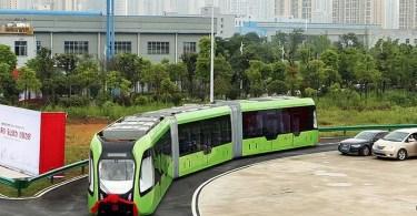 """art train virtual tracks crrc china 2 - Vídeo de pessoas enfrentando a """"Força G"""""""