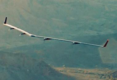 avião do facebook drone levar internet para mundo - Facebook e o avião de energia solar que irá levar Internet ao mundo