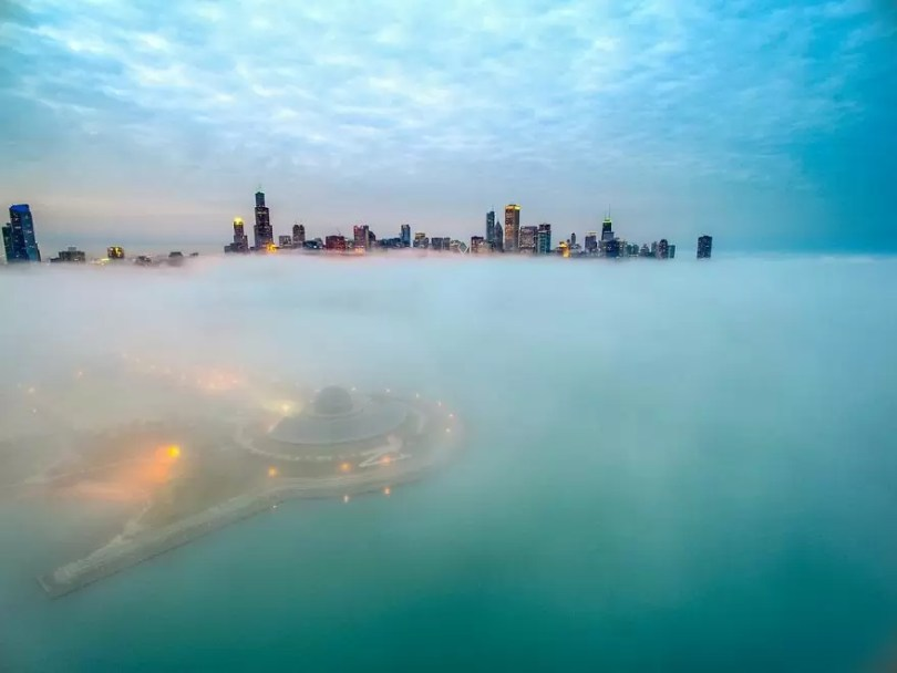 drone 4 Chicago From Above Awesome Bumblebee Photograph by Razvan Sera 5923e47a55514  880 - Chicago e as novas perspectivas do olhar humano por Drones