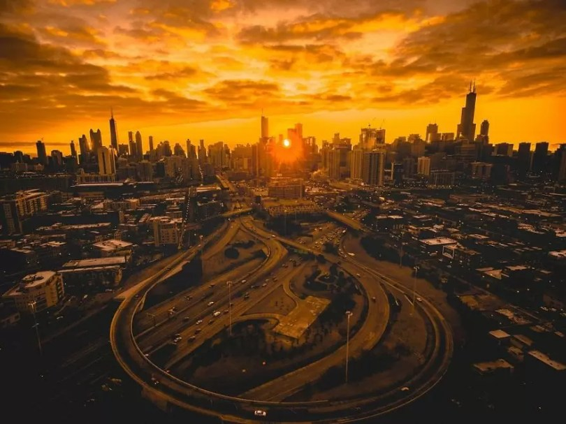 drone 7 Chicago From Above Awesome Bumblebee Photograph by Razvan Sera 5922d44942a28  880 - Chicago e as novas perspectivas do olhar humano por Drones