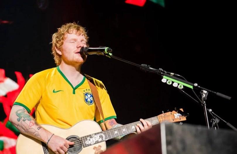 ed sheeran brasil - Youtubers e mídia especializada convidados entrevistam Ed Sheeran no Brasil