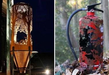 forests cut transit nature delivers dan rawlings 22 1 - Artista faz recortes em objetos inimagináveis