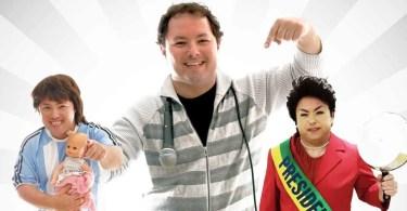 humorista Alexandre Porpetone - Gringos reagem a pegadinhas do Silvio Santos