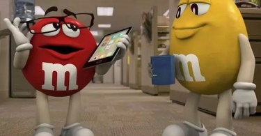 mms - Evolução dos primeiros comerciais de M&M's até os dias de hoje
