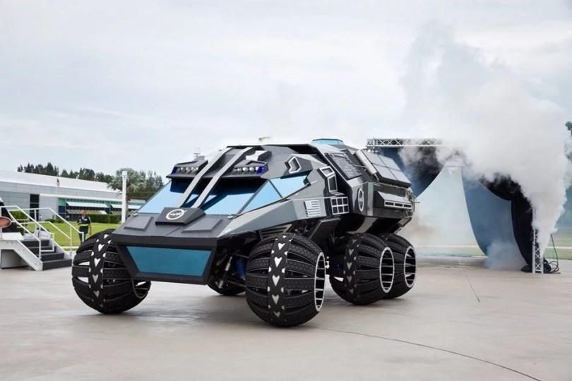 nasa car - NASA apresenta seu novo carro: Astronautas vão trabalhar ou ostentar em Marte?