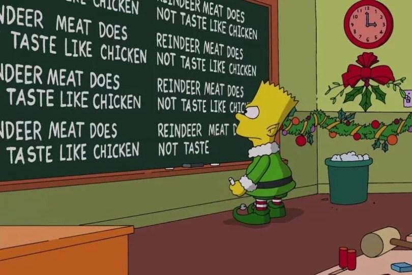 os simpsons natal - Como seria a abertura de Os Simpsons com pessoas de verdade?