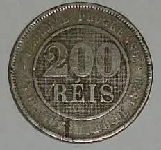 reis - Qual foi a primeira moeda utilizada no Brasil?
