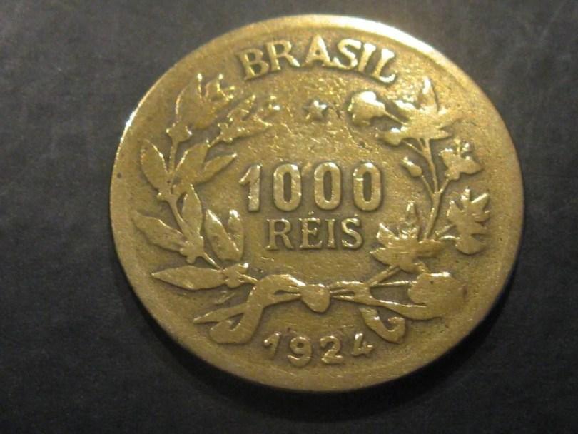 reis3 - Qual foi a primeira moeda utilizada no Brasil?